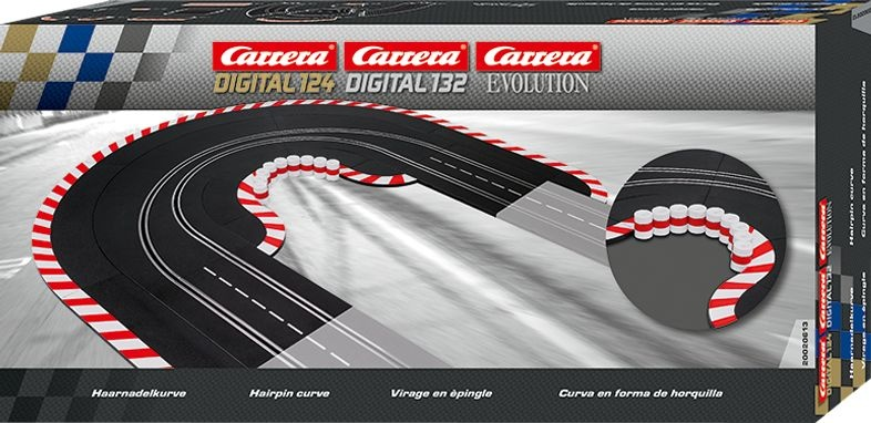 Haarnadelkurve für Digital 124, 132 und Evolution