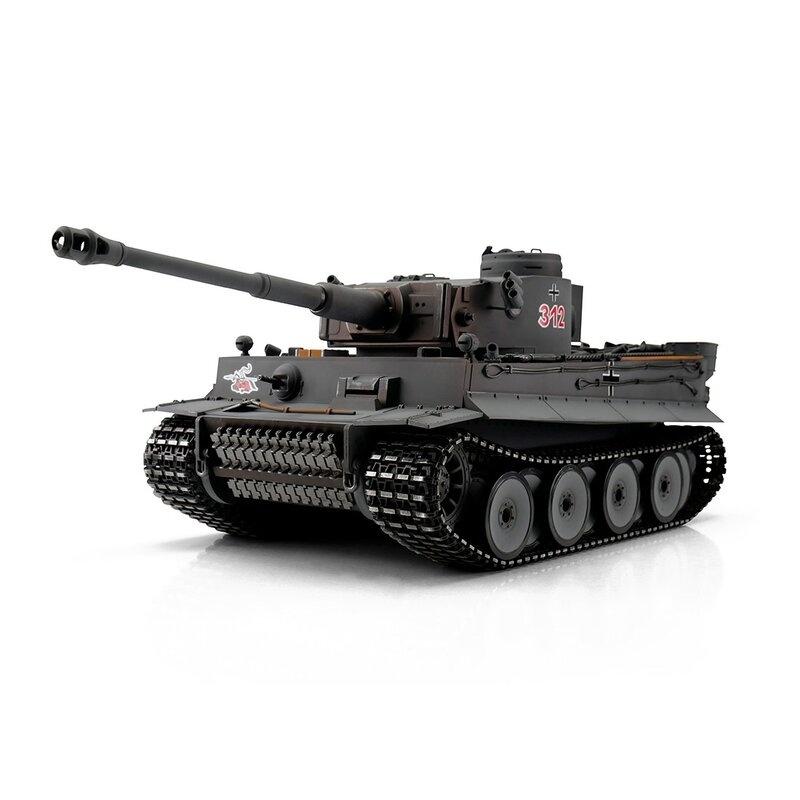 RC Tiger I 1:16 Frühe Ausführung grau mit IR Battlesystem