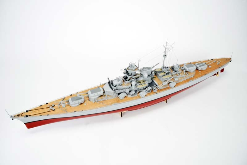 1:200 RC-Boot BISMARCK 1,30m ARR