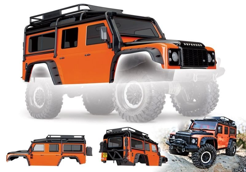 Land Rover Defender Adventure Edition orange für TRX-4 324mm