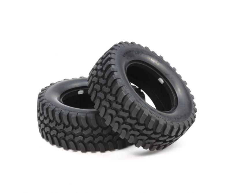 Mud-Block 1/10 Offroad Reifen für CC-01 (2)