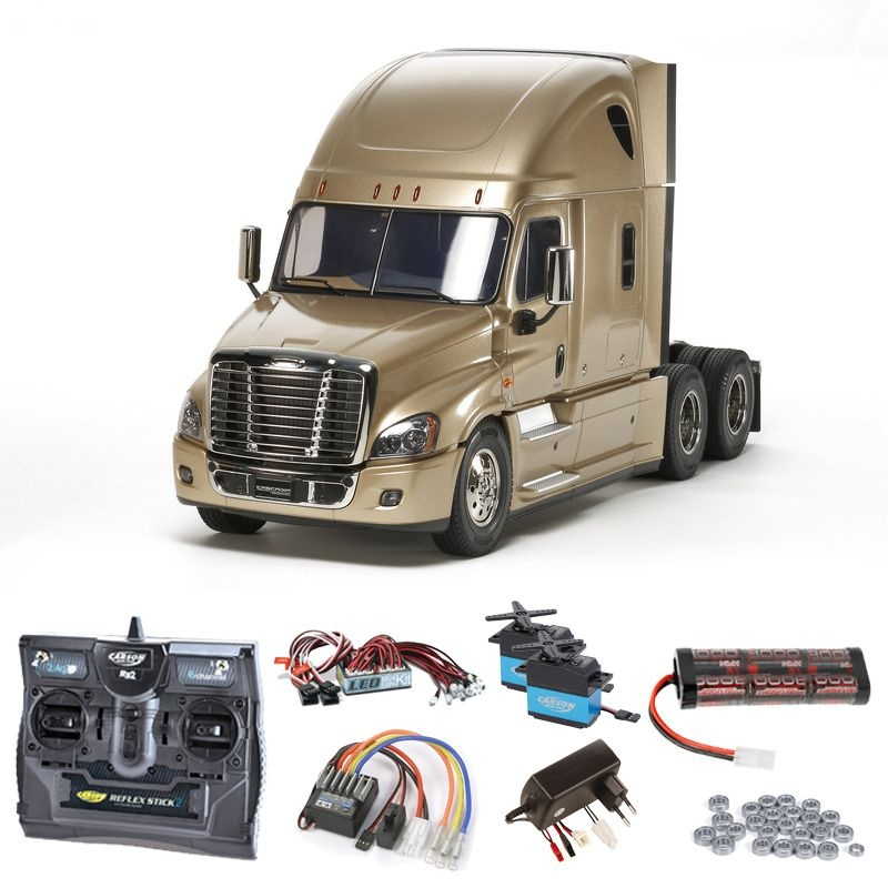 Freightliner Cascadia Evolution Komplettset + LED,Kugellager