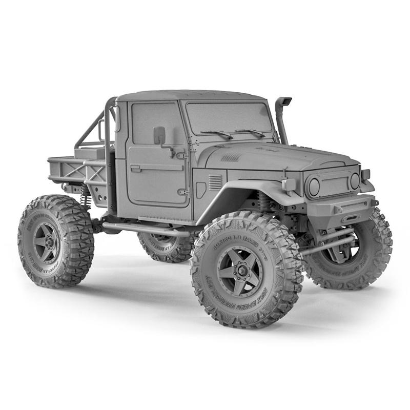 CFX-W J45 4WD Scale Crawler Bausatz 1:10