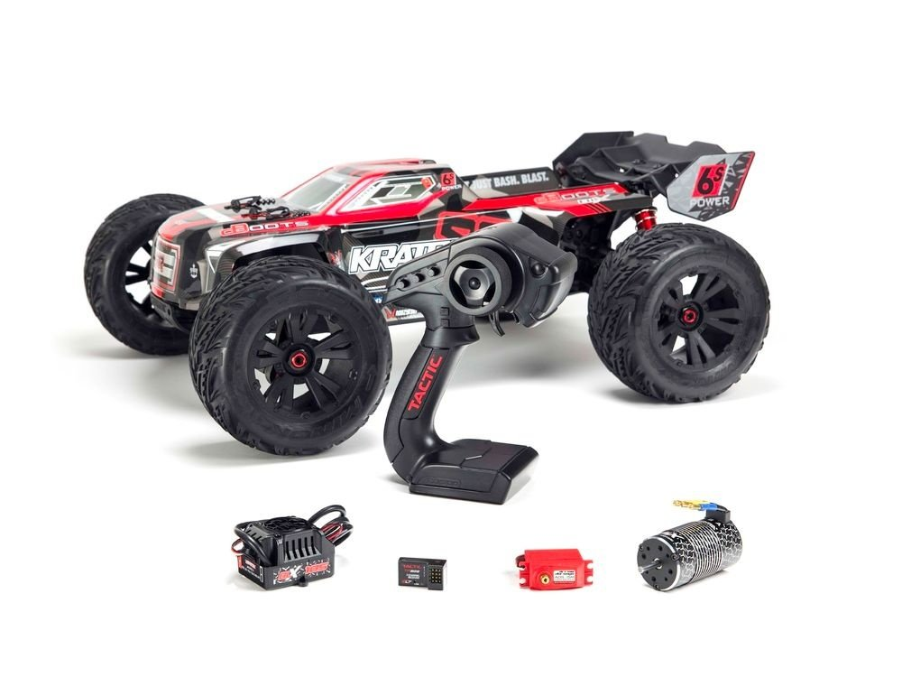 Kraton 6S BLX 4WD 1/8 Monster Truck RTR rot - NEW2018