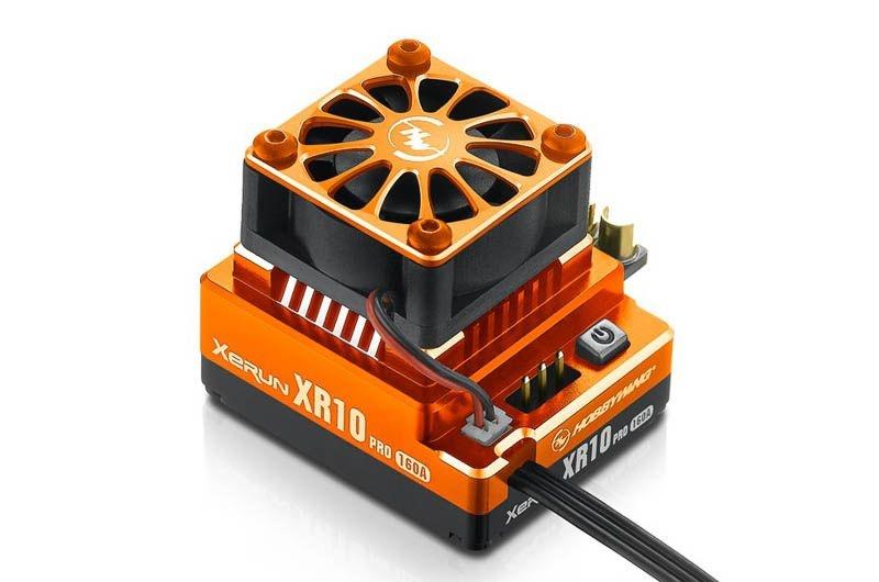 Xerun XR10 Pro V4 160A BEC 4A 2-3s Orange für 1/10