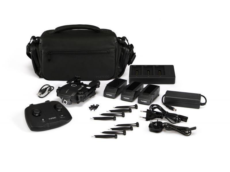 Mantis Q X-Pack - Faltdrohne mit 4K Kamera, Fernsteuerung,