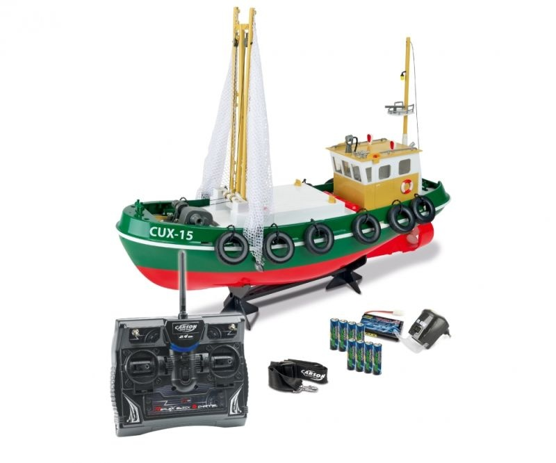 Fischkutter Cux-15 RC-Boot 2.4Ghz 100% RTR