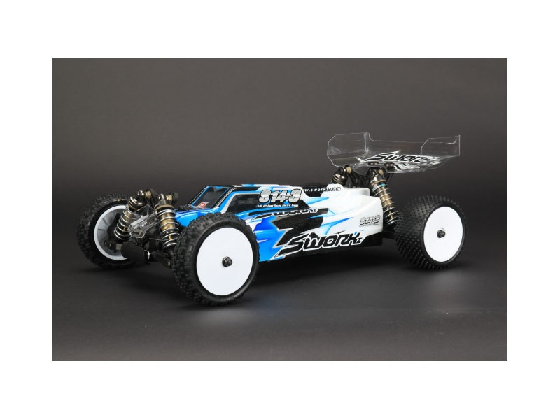 S14-3 1/10 4WD Off-Road Racing Buggy PRO Kit