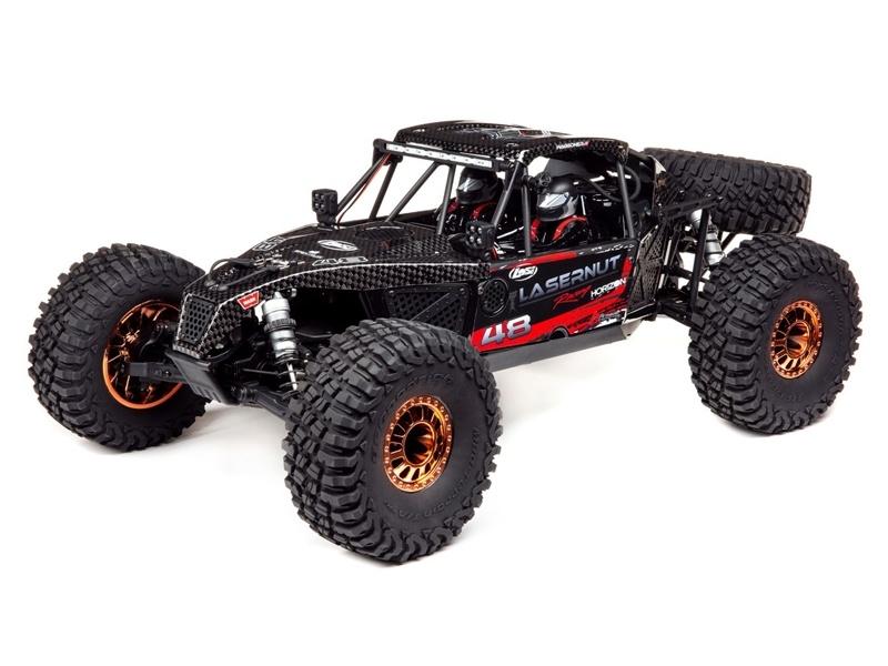 Lasernut U4 1/10 Scale 4WD Brushless Rock Racer RTR schwarz