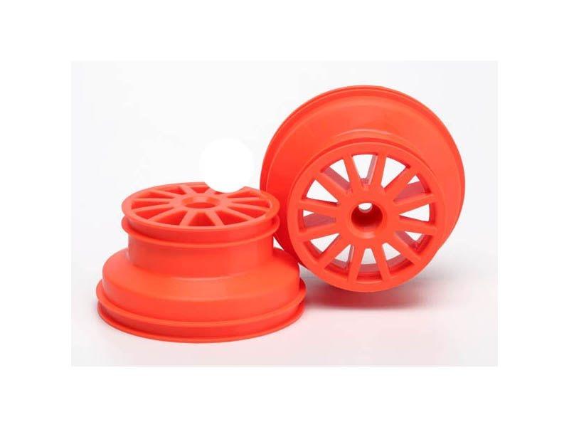 Rallye Felgen orange 12mm (2 Stück)