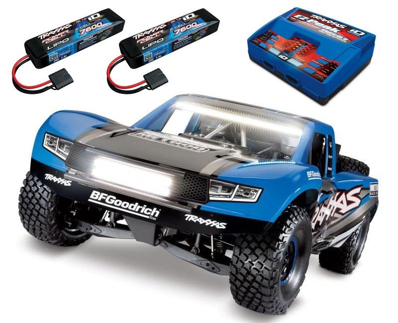 Unlimited Desert Racer 4x4 Racing Truck inkl LED bis 6S Blau