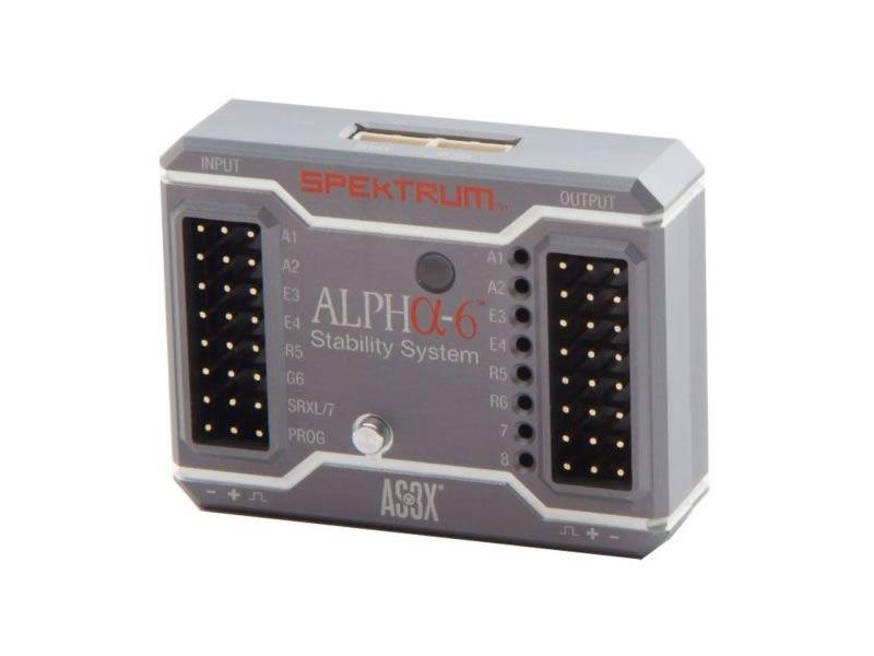 Spektrum Alpha-6 AS3X Stability System