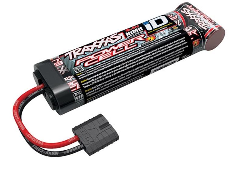 Power Cell Series5 8,4V 5000mAh 7Z NiMh Stick TRAXXAS iD-Ste