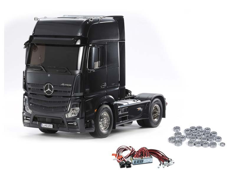 Mercedes Benz Actros 1851 GigaSpace Black + LED, Kugellager