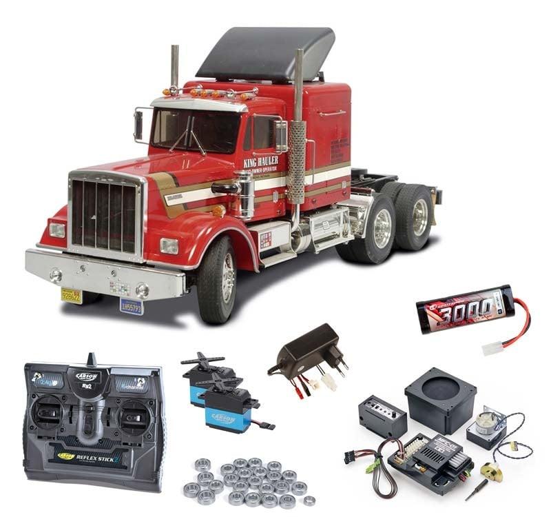 Truck King Hauler Komplettset inkl. MFC-01, Kugellager