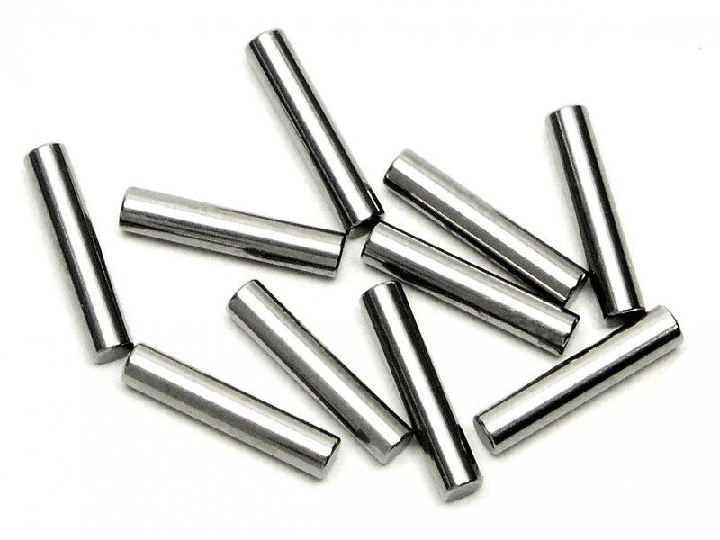 Stift 2x10mm silber (10St)