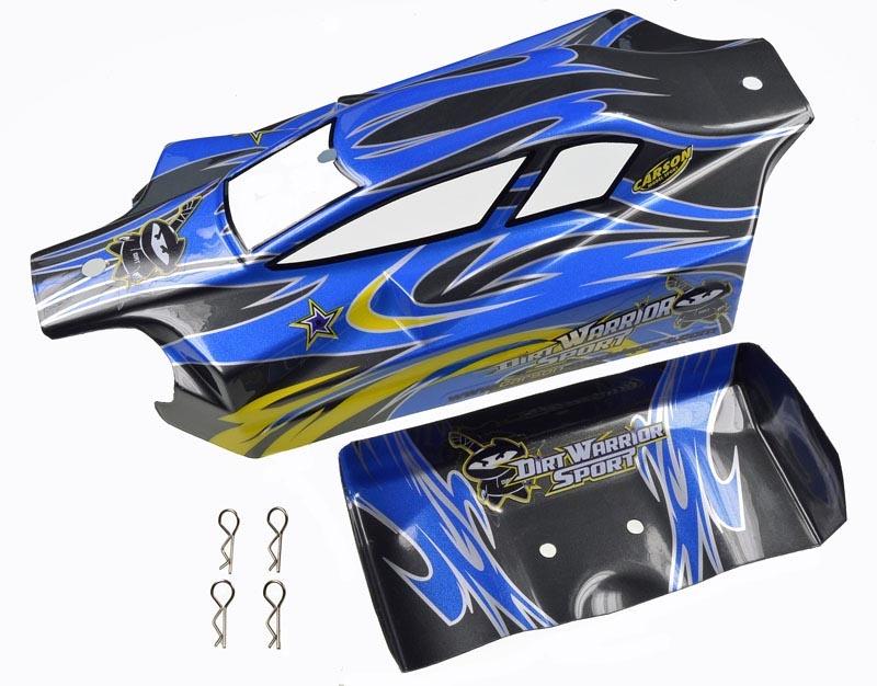 X10EB Dirt Warrior Sport Karosserie+Spoiler