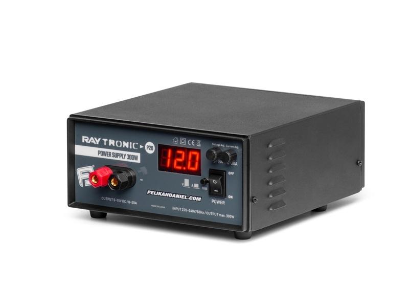 Raytronic Schaltnetzteil P20 15V/20A einstellbares Netzteil
