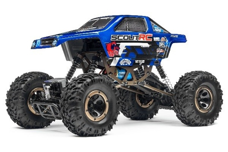 Scout RC 4WD Rock Crawler 1:10 2,4GHz RTR