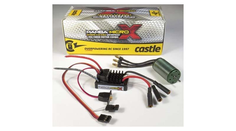 Castle 1/18 MAMBA MXW/5300KV010-0147-02