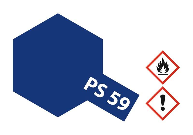 PS-59 Dunkel Metallic Blau Polycarbonat 100ml