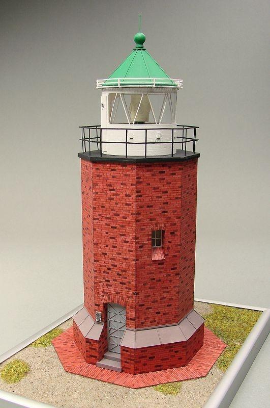 Leuchtturm Rotes Kliff Laser Kartonbausatz