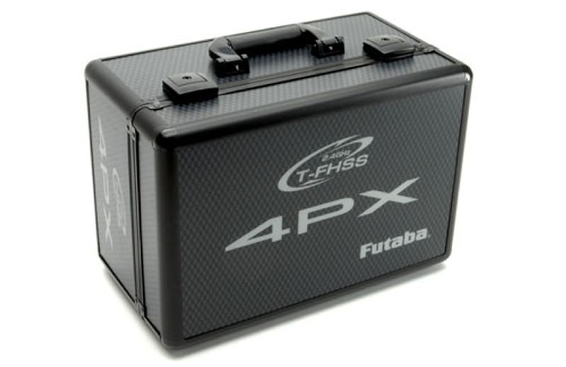 Senderkoffer Alu schwarz 4PX