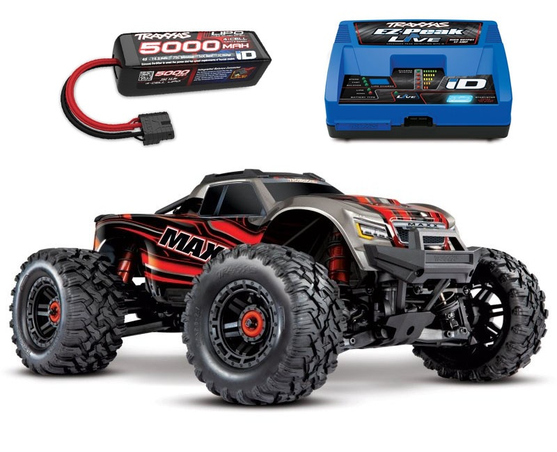 Maxx 4S 1:10 4WD Monster Truck Brushless TQi 90+ km/h rot
