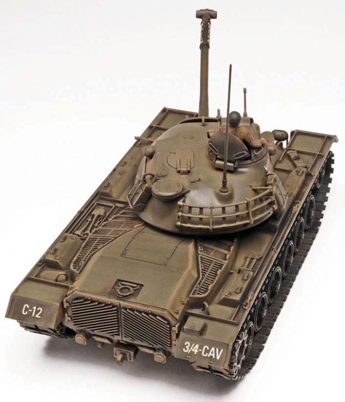M-48 A-2 Patton Tank 1:35 Panzer Plastik Bausatz