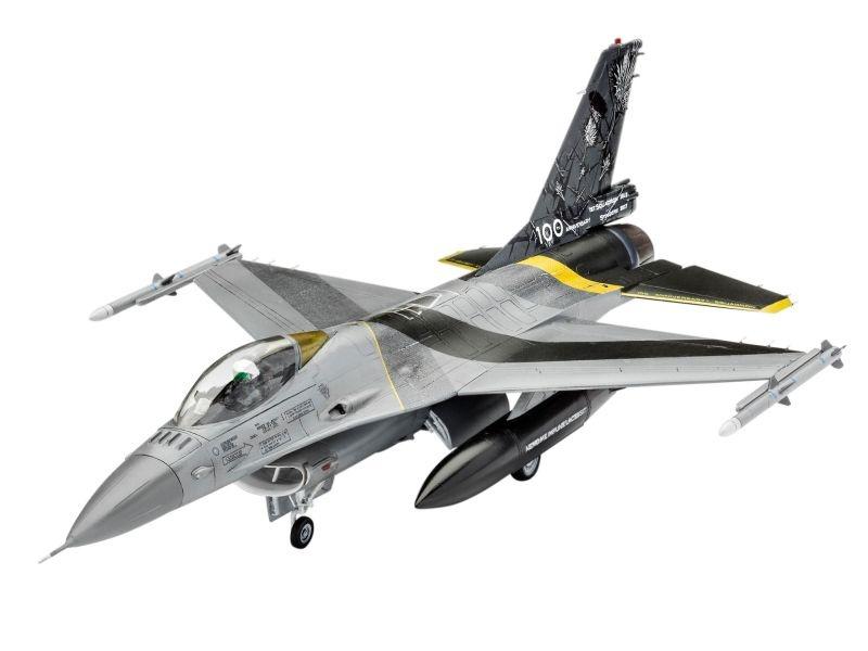 Lockheed Martin F-16 MLU Kampfjet Bausatz 1:72