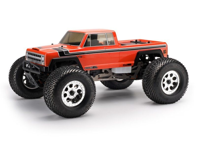 GTXL-1 Vintage Karosserie (klar) für Savage XL