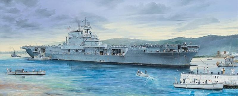 CV-6 USS Enterprise Bausatz 1:200