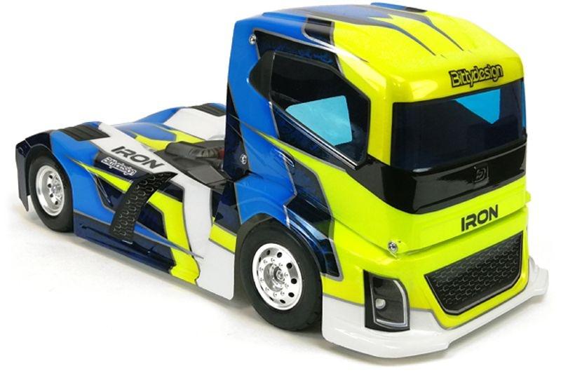 Iron Truck Karosserie (klar) für 1:10 Tourenwagen 190mm