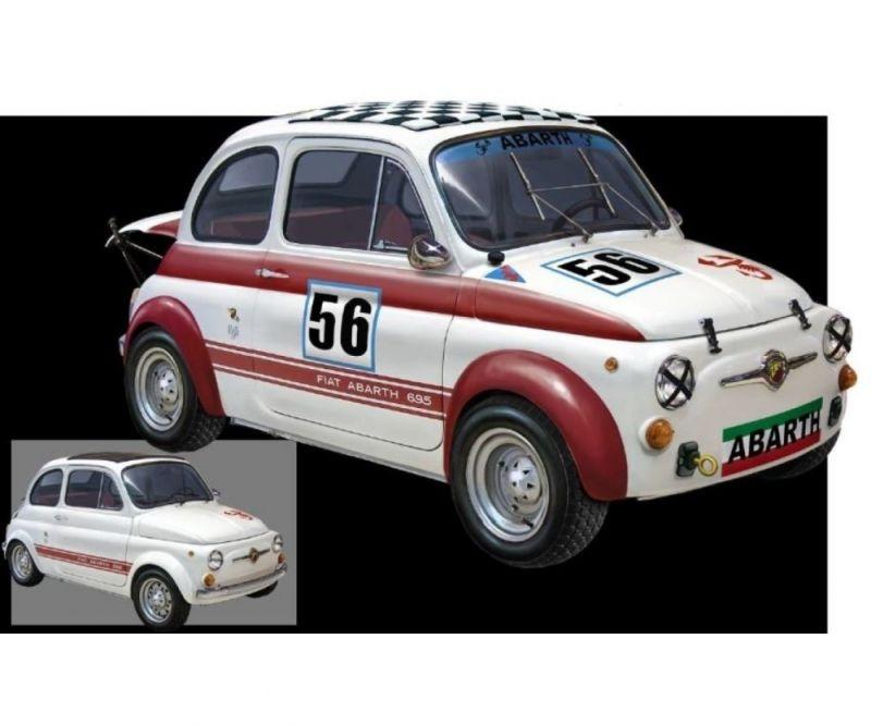 FIAT Abarth 695 SS/ Assetto Corsa Bausatz 1:12