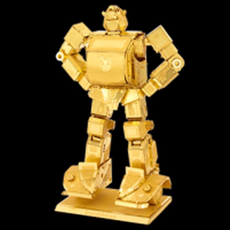 Transformer Bumblebee gold Metalearth Bausatz