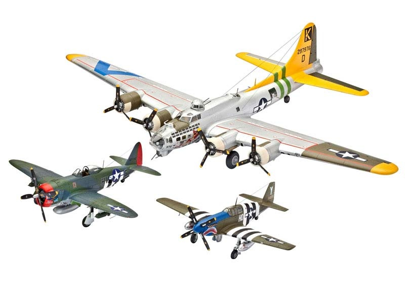 Geschenk-Set U.S. LEGENDS: 8th AIR FORCE 1:72