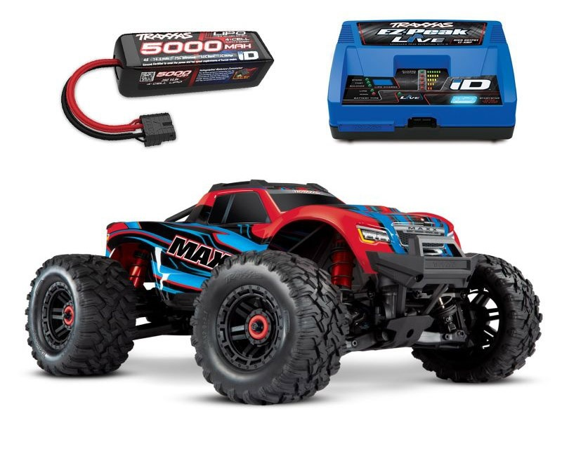 Maxx 4S 1:10 4WD Monster Truck Brushless TQi 90+ km/h rotx
