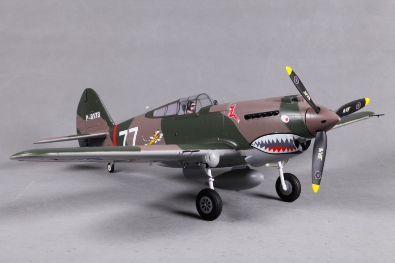 P-40B Curtiss Warhawk Flying Tiger PNP 98 cm Combo
