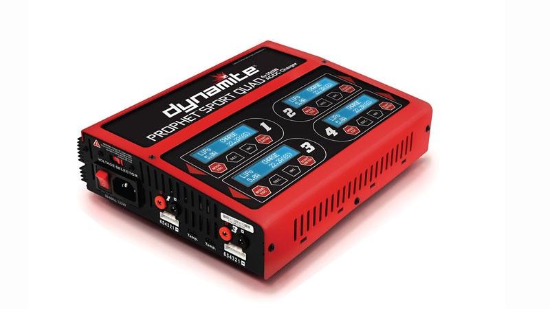 Prophet Sport Quad 4x50W AC/DC-Ladegerät