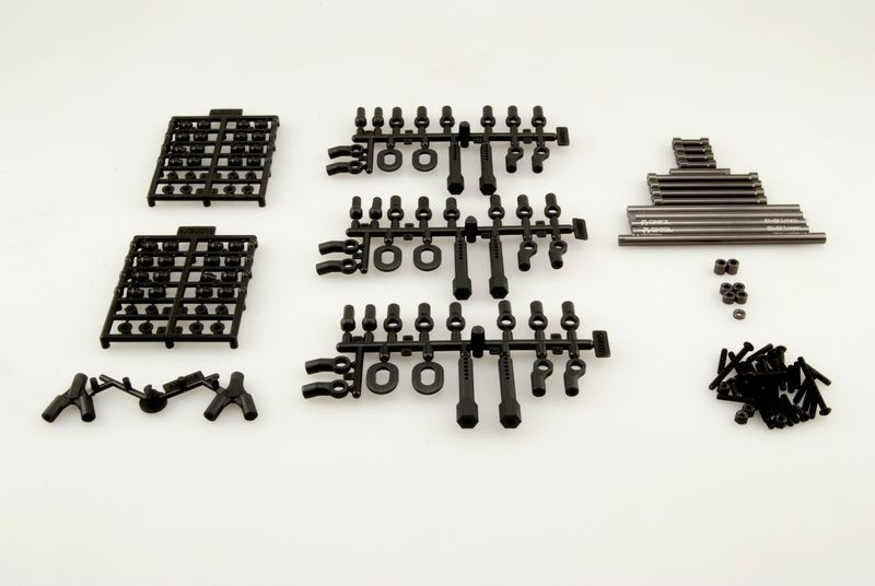 SCX10 TR Aluminum Links Upgrade Set Dingo