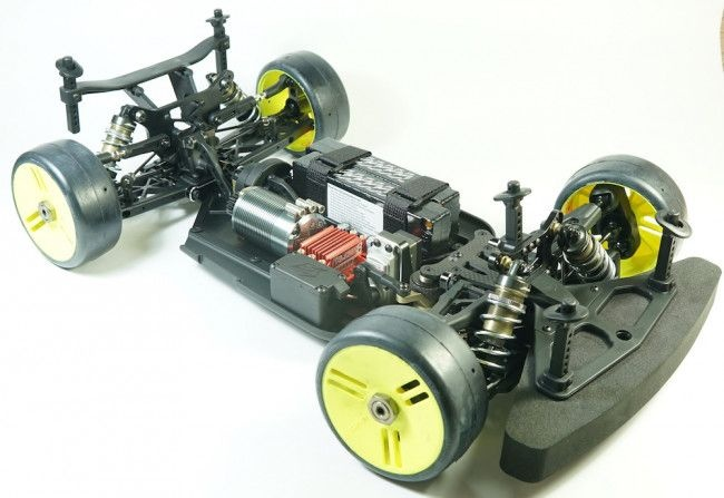 S35-3GTE 1/8 Pro Brushless On-Road GT Kit
