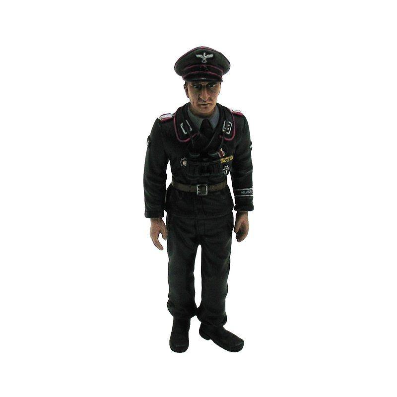 Figur Major Ernst Johann Tetsch 1/16 für Panzermodelle
