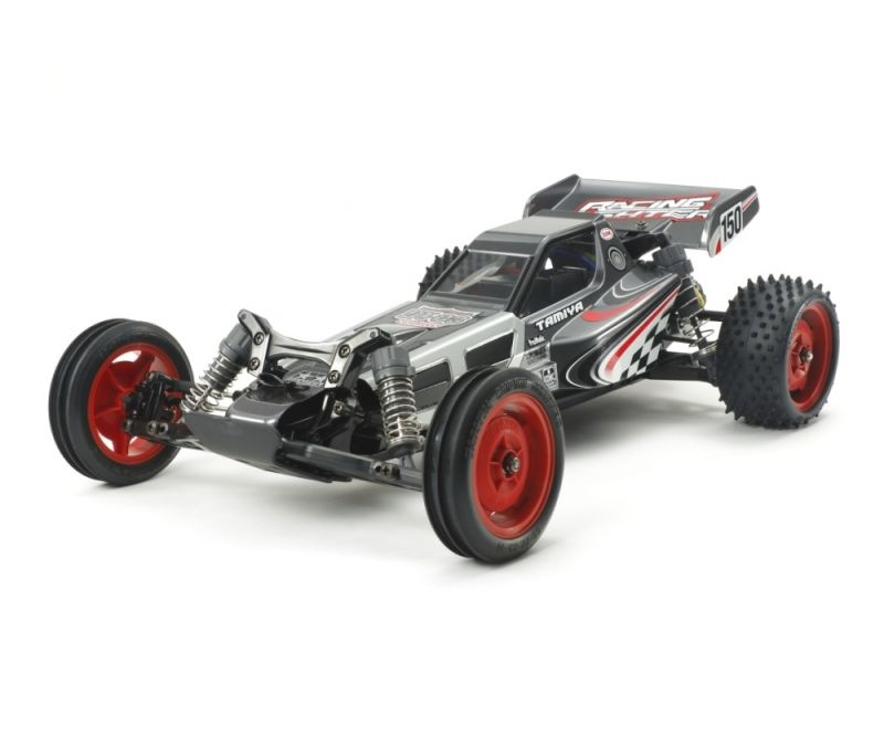 Racing Fighter DT-03 2WD Buggy 1/10 Black Edition Bausatz