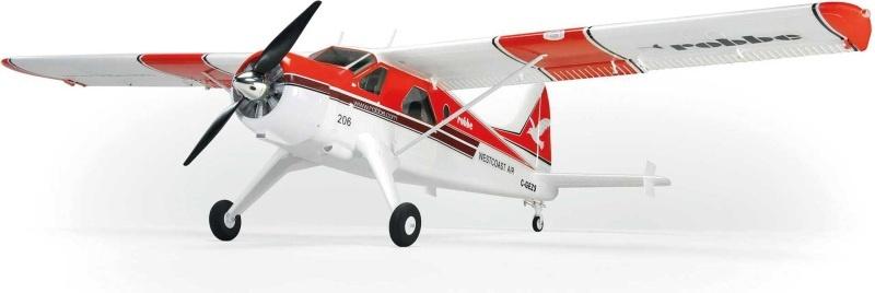 DHC-2 Beaver Air Beaver EPO Flugmodell 1520mm PNP, rot