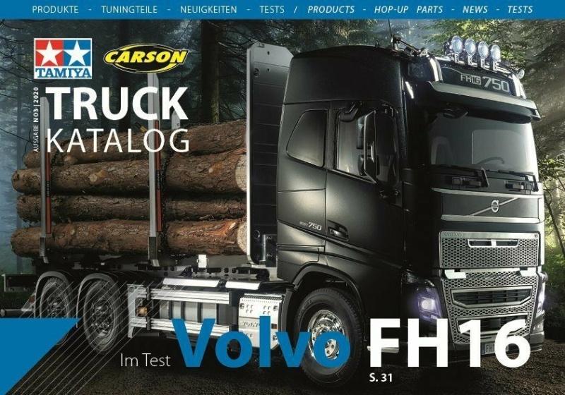 Truck Katalog Ausgabe 3 / 2020 Tamiya und Carson