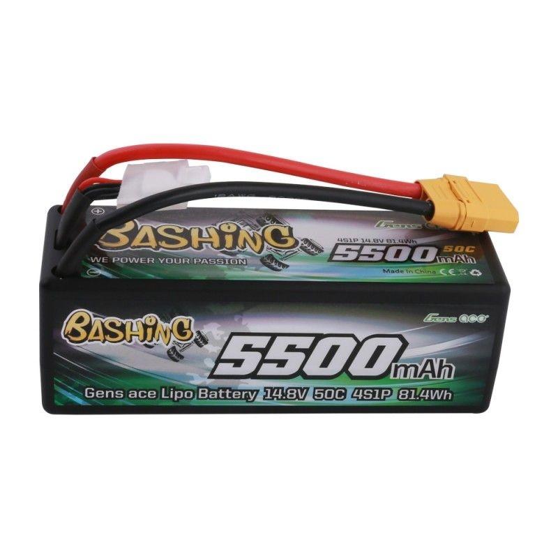 Bashing LiPo Akku 5500mAh 14,8V 4S1P 50C Hardcase XT90