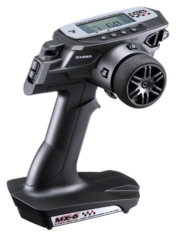 MX-6 DRY 3CH Fernsteuerung 2,4GHz FH-E mit RX-391W Empfänger