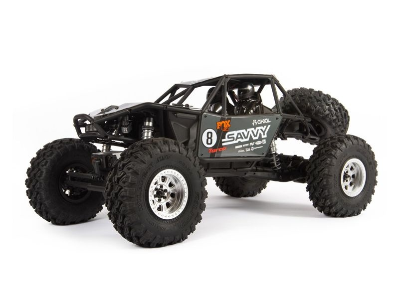 RR10 Bomber 2.0 1:10 4WD RTR Rock Racer grau