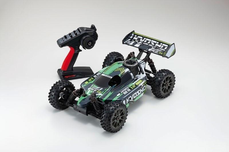 Inferno Neo 3.0 4WD Buggy Nitro 1:8 2,4GHz RTR, grün