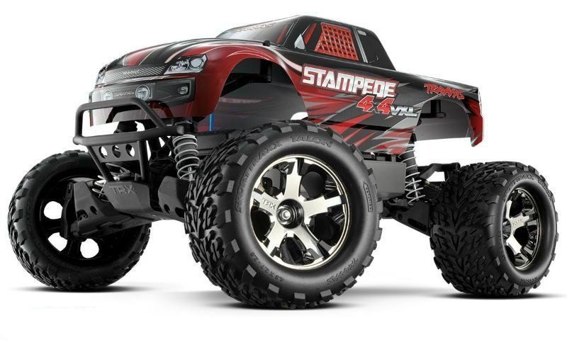 Stampede 4x4 BRUSHLESS Monster Truck VXL 2.4GHz Version 2018